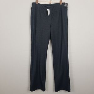 New York and Company Modern Fit Blue Pull On Pants